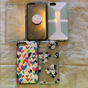iPhone 6+ phone covers - Kate spare. Speck